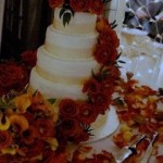 corona wedding cakes by Laurice